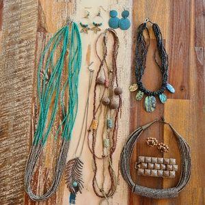 Bulk Lot of 9 Fashion Jewellery items